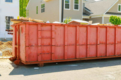 dumpster rented in ventura neighborhood